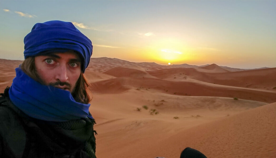 001 Sunrise at Erg Chebbi