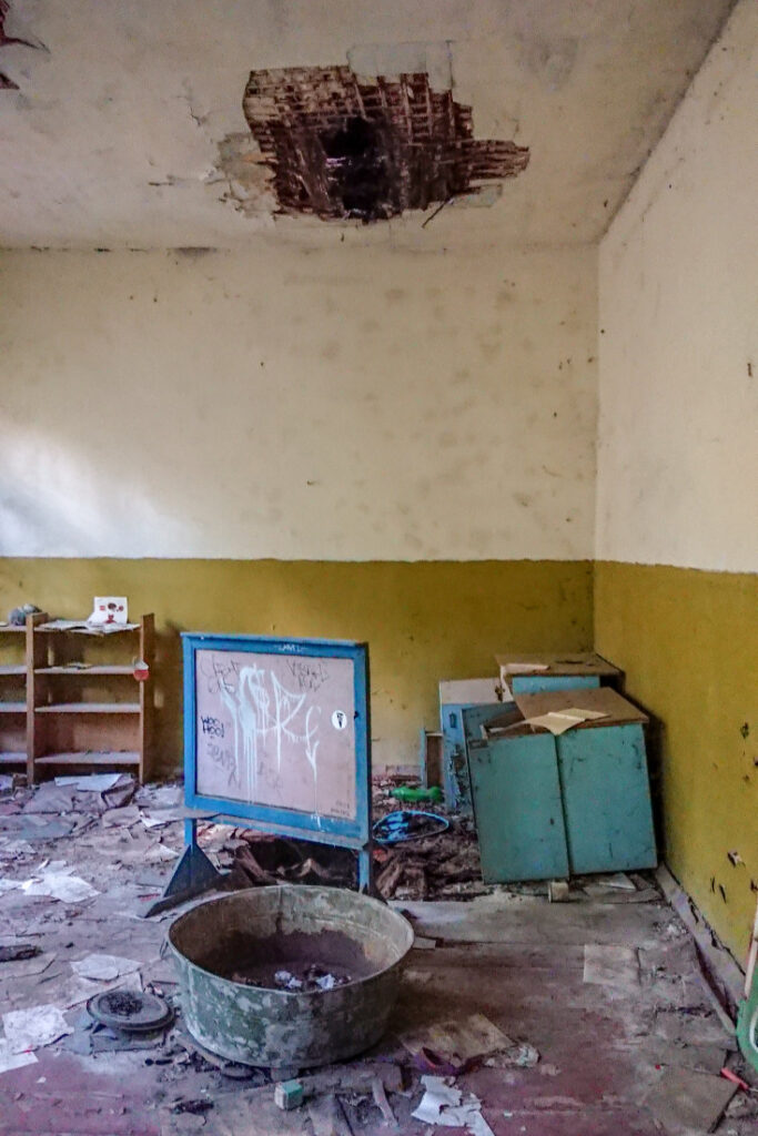 Kindergarten in Chernobyl