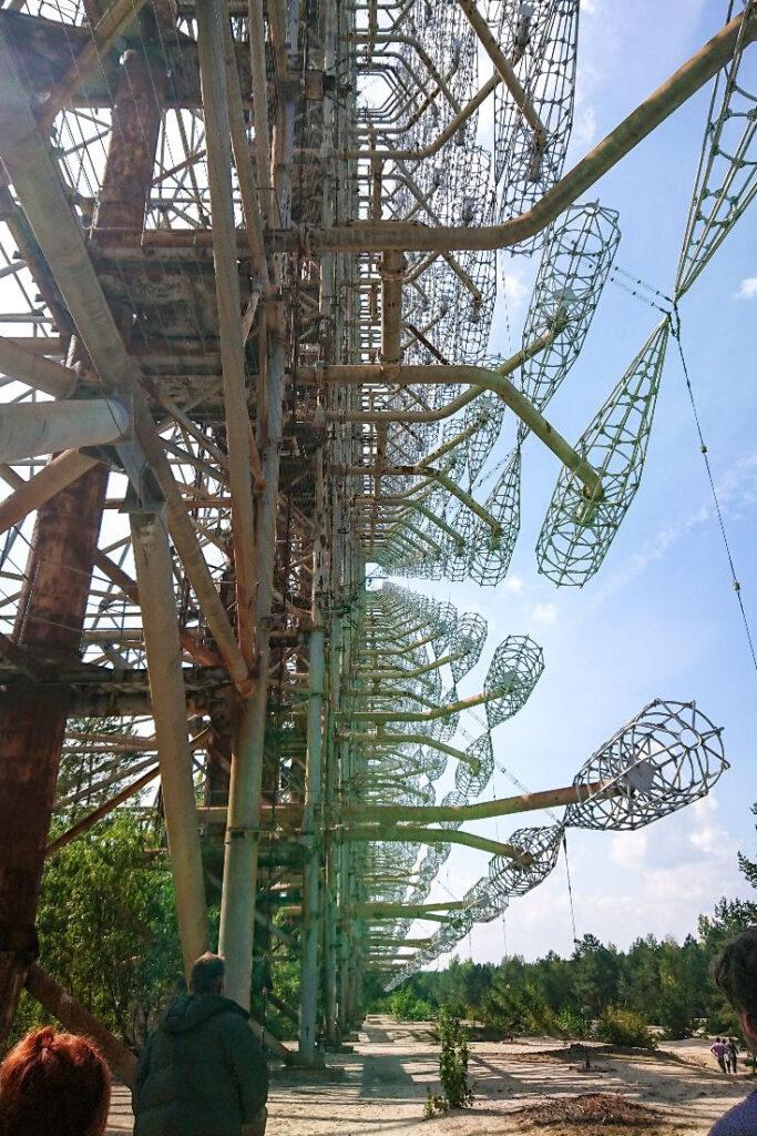 Duga radar in Chernobyl