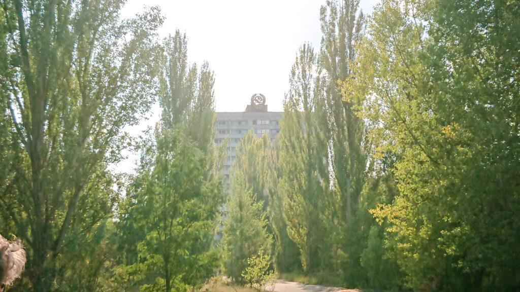 Pripyat bulding