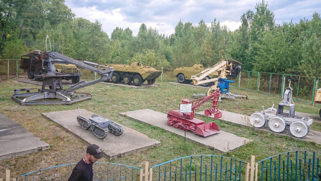 Robots used in Chernobyl