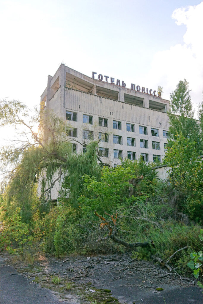 Hotel in Pripyat